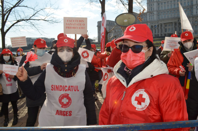 Federația Sanitas a anunțat proteste de amploare