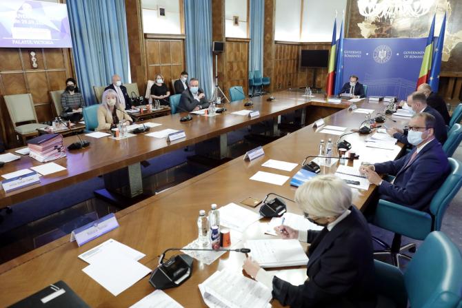 Guvernul urmează să aprobe, astăzi, noile măsuri adoptate de CNSU pentru combaterea pandemiei
