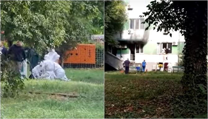 Imagini dramatice după incendiul de la Constanța: Pacienți resuscitați pe IARBĂ, oameni evacuați pe geam. 9 morți - VIDEO