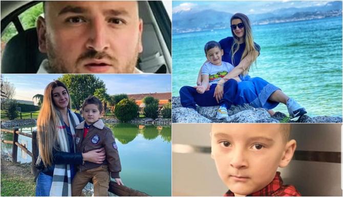 """Italia. Alexandra, mama micuțului român răpit, rupe tăcerea: """"Mi l-a smuls din mâini, David țipa de disperare"""". Bogdan l-a mai luat și în trecut"""