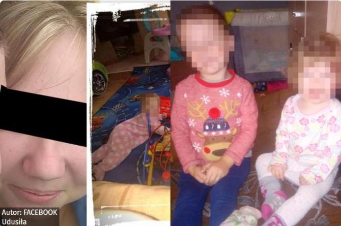 O mamă și-a ucis fără milă cei trei copilași. I-a sugrumat pe micuți cu propriile mâini