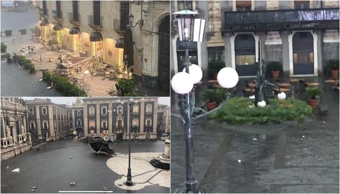 """O tornadă a făcut ravagii în Italia: """"Nu ieșiți din case!"""""""