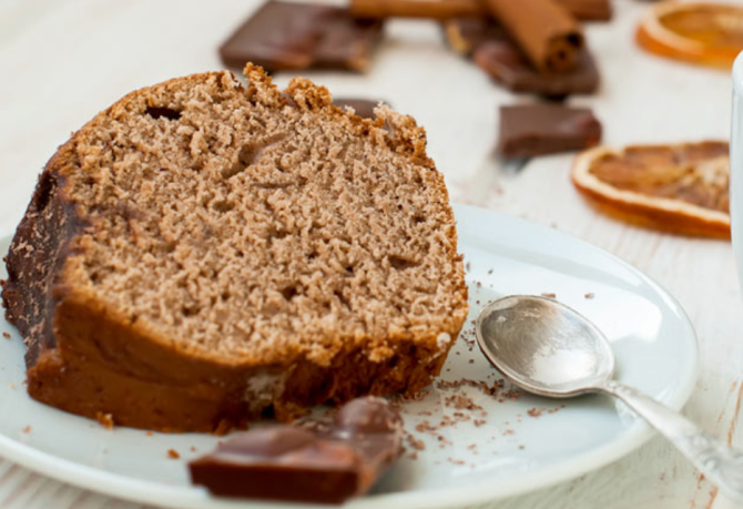 Prăjitura cu cafea este foarte ușoară. Nu are ou, lapte sau unt. E făcută din doar 5 ingrediente și are un gust divin