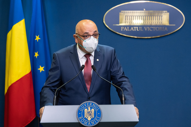 Raed Arafat, despre noile restricții din România, după recordul absolut de infectări înregistrat astăzi