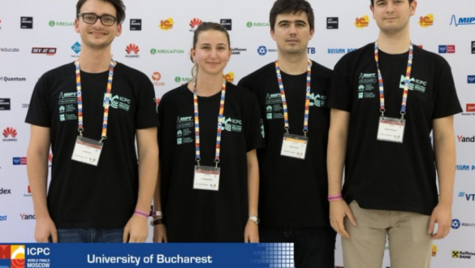 Ei sunt studenții români care au urcat pe podiumul internațional la Informatică